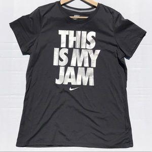 "Nike Slim Fit ""This is my Jam"" Tee Shirt"